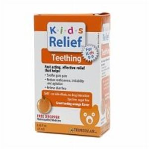 Homeolab USA Kids Relief Teething, Ages 0-9, Orange .85 fl oz (25 ml)