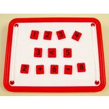 Magnetic Teaching Tiles - Numbers and Math Symbols