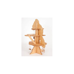 Tree Swing Wooden Tree House -- Mothering Toy Guide 2013