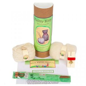 Image of: Pied Piper Knitty Kitty Craft Kit