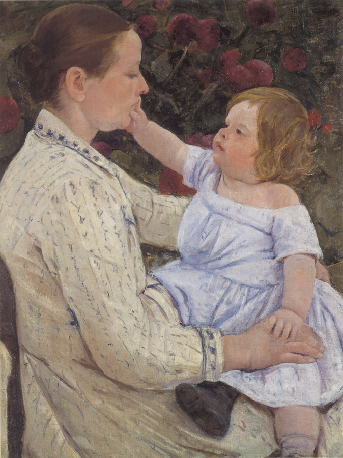 Mary_Cassatt_-_%27The_Child%27s_Caress%27,_oil_on_canvas,_c._1890,_Honolulu_Academy_of_Arts.jpg