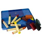 Stockmar Block/Stick Beeswax Crayon Combination in a Tin - Set of 16