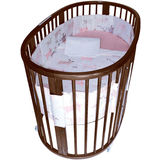 STOKKE SLEEPI Crib Set - Tales Pink