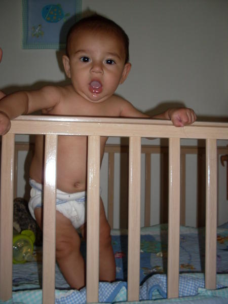 strong boy! 6mos