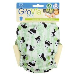 great diaper! easy to use, clean and organic, dry faster than other AIO