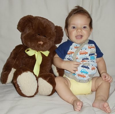 Benji and his Bear