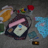 Diaper bag contents