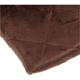 Carters Velour Playard Fitted Sheet, Chocolate