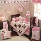 Lambs & Ivy Petals 6 Piece Bedding Set