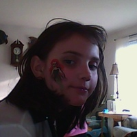 ivy-rose w facepaint too...