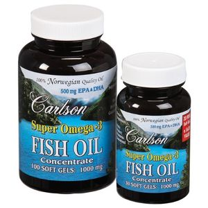 Carlson Super Omega-3, 100 + 30 Softgels