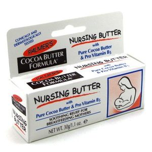 Palmers Cocoa Butter Nursing Cream 1.1 oz. With Free Pads (Case of 6)