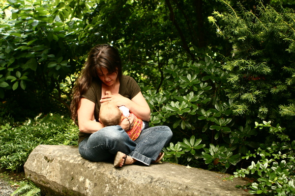 Breastfeeding...anywhere! :)