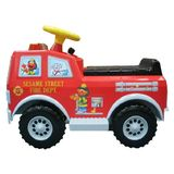 Tek Nek Sesame Street Elmo's 6Volt Powered Fire Truck with Lights and Sounds