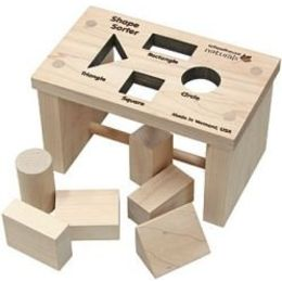 Natural Toy Best Pick--Shape Sorter Bench from Nature's Crib