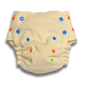 Babykicks Organic One Size Fitted Diaper