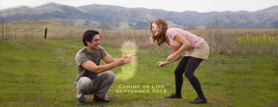 Our announcement picture (designed by me!) of our coming baby in SEPT!!! (: