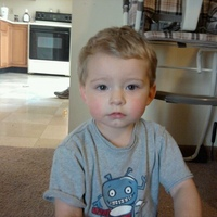 My amazing son, Landen (almost 2 years old)