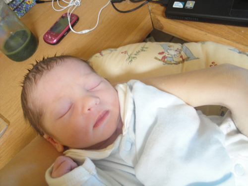 My son - born March 10, 2012 - 1 day old
