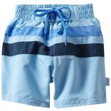 i play. Baby-boys Infant Ultimate Swim Diaper Block Boardshorts, Light Blue/Navy, 12 Months