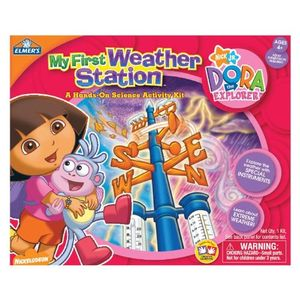 Elmer's Education Dora My First Weather Station