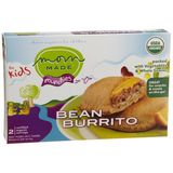 Mom Made Foods Bean Burrito Munchie, 5-Ounce Boxes (Pack of 8)