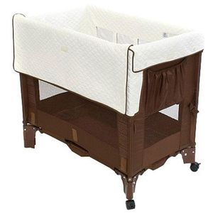 Arm's Reach Co-Sleeper Mini Bassinet Convertible, Coco Natural