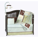 Organic Vine Patch 6 Piece Crib Bedding Set