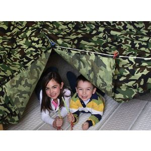 Be Amazing! Toys Build - A - fort Green Camo Tent