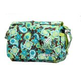 Ju Ju Be Be All Diaper Bag, Green/Print