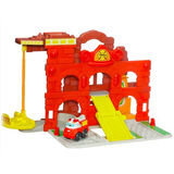 Chuck & Friends Fold 'n Go Play Set - Fire Station