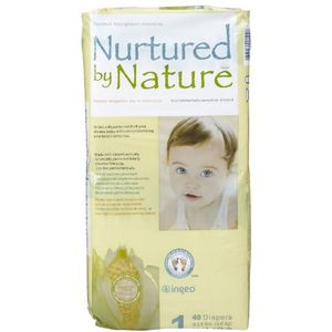 Nurtured By Nature Environmentally Sensitive Diapers