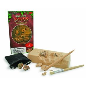 GeoCentral Excavate-Fossilized Dino Poop Dig Kit