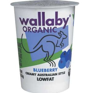 Wallaby Yogurt Organic Blueberry Yogurt