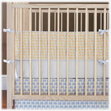 Q Collection Junior Celestial Parade Organic Crib Set - Roxy