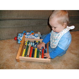 Melissa &amp; Doug Classic Wooden Abacus