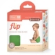 Flip Diaper with stay dry insert