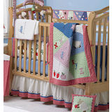 Sumersault ABC Baby 4 Piece Bedding Set