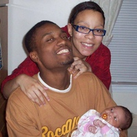 Our daughter's first thanksgiving in 2008