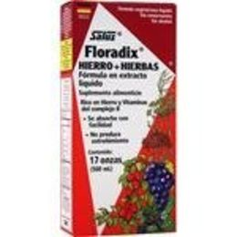 Floradix Iron + Herbs - Liquid Extract Formula 17 fl.oz