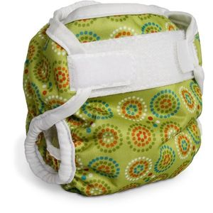Bummis Super Brite Diaper Cover, Green, 8-16 Pounds