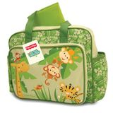 Fisher Price Rainforest Diaper Bag, Green
