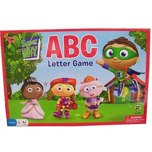 University Games Super Why ABC Letter Preschool Game