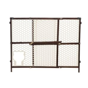 Safety 1st Baby and Pet Gate, Brown