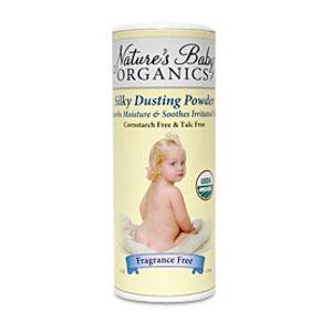 Nature's Baby Organics Silky Dusting Powder