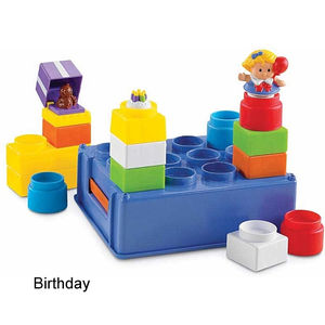 Little People Build 'n Carry Set - Birthday