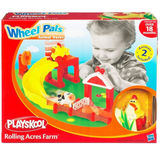 Wheel Pals Animal Tracks Playset - Rolling Acres Farm