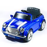 National Products Ltd. 6V Battery Operated Mini Cooper Ride - On Blue