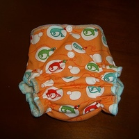 Newborn Spaceships Diaper