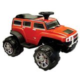 New Star Hummer H3X Ride-On in Orange, 24-48 Months